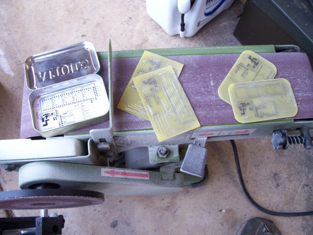 cutting and shaping boards
